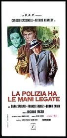 La polizia ha le mani legate - Italian Movie Poster (xs thumbnail)
