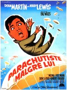 Jumping Jacks - French Movie Poster (xs thumbnail)