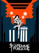 La femme publique - DVD cover (xs thumbnail)