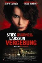 Luftslottet som sprängdes - Swiss Movie Poster (xs thumbnail)
