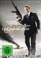 Quantum of Solace - German Movie Cover (xs thumbnail)