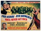 You'll Never Get Rich - Movie Poster (xs thumbnail)