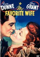 My Favorite Wife - DVD movie cover (xs thumbnail)