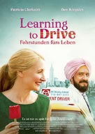 Learning to Drive - German Movie Poster (xs thumbnail)