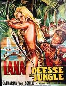 Lana - Königin der Amazonen - French Movie Poster (xs thumbnail)