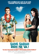 Forgetting Sarah Marshall - French Movie Poster (xs thumbnail)