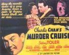 Charlie Chan's Murder Cruise - Movie Poster (xs thumbnail)