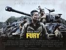 Fury - British Movie Poster (xs thumbnail)