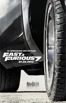 Furious 7 - French Movie Poster (xs thumbnail)