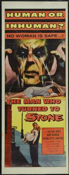 The Man Who Turned to Stone - Movie Poster (xs thumbnail)