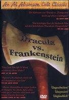 Dracula Vs. Frankenstein - German DVD movie cover (xs thumbnail)