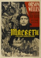 Macbeth - Italian Movie Poster (xs thumbnail)