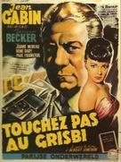 Touchez pas au grisbi - Belgian Movie Poster (xs thumbnail)