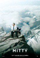 The Secret Life of Walter Mitty - French Movie Poster (xs thumbnail)