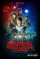 """Stranger Things"" - Italian Movie Poster (xs thumbnail)"