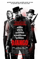 Django Unchained - Vietnamese Movie Poster (xs thumbnail)