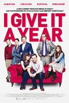 I Give It a Year - Movie Poster (xs thumbnail)