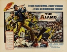 The Alamo - British Movie Poster (xs thumbnail)