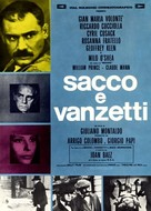 Sacco e Vanzetti - Italian Movie Poster (xs thumbnail)