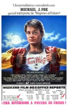 Teen Wolf - Spanish Movie Poster (xs thumbnail)