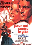 For Whom the Bell Tolls - French Movie Poster (xs thumbnail)