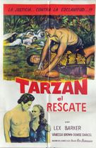 Tarzan and the Slave Girl - Argentinian Movie Poster (xs thumbnail)