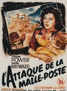 Rawhide - French Movie Poster (xs thumbnail)