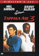 Lethal Weapon 3 - Finnish DVD movie cover (xs thumbnail)
