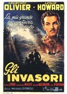 49th Parallel - Italian Movie Poster (xs thumbnail)