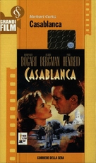 Casablanca - Italian Movie Cover (xs thumbnail)