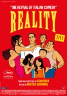 Reality - Belgian Movie Poster (xs thumbnail)