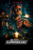 Escape From New York - German Movie Cover (xs thumbnail)
