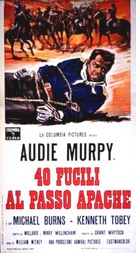 40 Guns to Apache Pass - Italian Movie Poster (xs thumbnail)