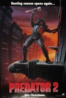 Predator 2 - Advance movie poster (xs thumbnail)