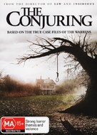 The Conjuring - Australian DVD cover (xs thumbnail)