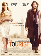 The Tourist - French Movie Poster (xs thumbnail)