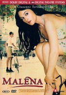 Malèna - Dutch DVD movie cover (xs thumbnail)