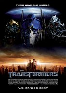 Transformers - Icelandic Movie Poster (xs thumbnail)