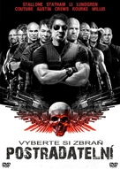 The Expendables - Czech DVD cover (xs thumbnail)