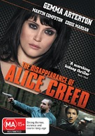 The Disappearance of Alice Creed - Australian DVD cover (xs thumbnail)