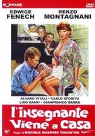 L'insegnante viene a casa - Italian DVD cover (xs thumbnail)