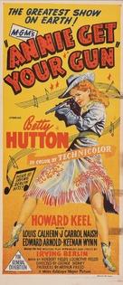 Annie Get Your Gun - Australian Movie Poster (xs thumbnail)