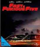 Fast Five - German Blu-Ray cover (xs thumbnail)