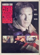 Clear And Present Danger - Movie Poster (xs thumbnail)