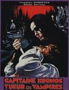 Captain Kronos - Vampire Hunter - French Movie Poster (xs thumbnail)
