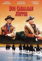 Two Rode Together - Spanish Movie Cover (xs thumbnail)