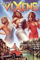 Beneath the Valley of the Ultra-Vixens - French VHS cover (xs thumbnail)