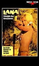 Lana - Königin der Amazonen - German VHS cover (xs thumbnail)