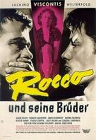 Rocco e i suoi fratelli - German Movie Poster (xs thumbnail)