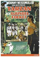 Tarzan Triumphs - Swedish Movie Poster (xs thumbnail)